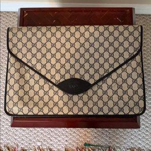 Vintage Gucci briefcase/bag